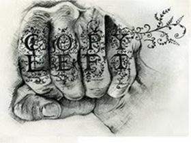 Copyleft fist